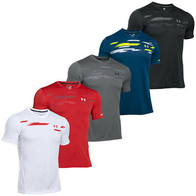 Under Armour 2017 Mens UA Challenger Graphic T Shirt Fitted Training Tee