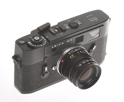 Leitz rara Leica M5 Attrappe - Dummy with 50/2 Summicron Attrappe or Dummy