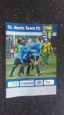 St Neots Town V Eynesbury Rovers 2010-11