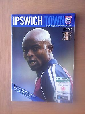 Ipswich Town V Middlesbrough 2002-03