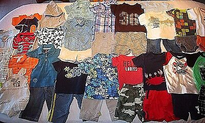 Lot of boys clothes, size 6/9, 6/12 months.  Spring/ Summer clothes.