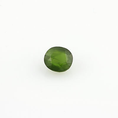 0.65ct Loose Diopside Gemstone - Green Oval 5.28mm x 4.8mm