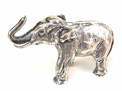S. Kirk & Son Solid Sterling Silver Miniature Elephant Figurine