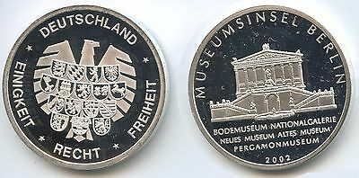 GY705 - Medaille 2002 - Museumsinsel Berlin Bodemuseum, Neues & Altes Museum...
