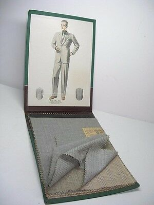 Antique 1930's Pike Hansen Chicago Men's Suit Cloth Salesman Sample Books