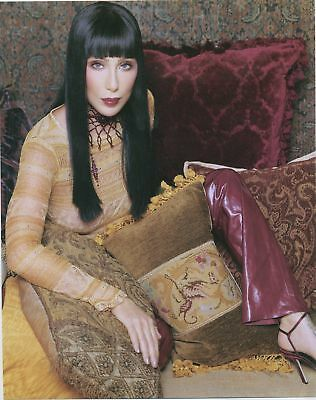 Gorgeous CHER  8x10 Color Photo From Former CHER Store at Caesar's Palace