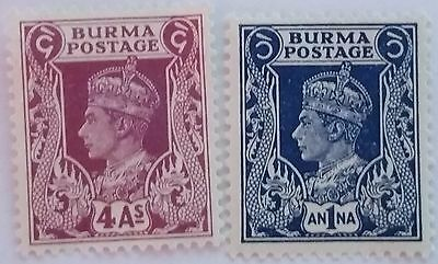 Burma  Unused/h   Thin Stamps Scu818Rr....worldwide Stamps