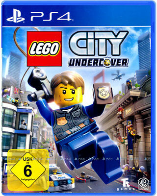 LEGO City Undercover         PS4         Playstation 4     !!!!! NEU+OVP !!!!!