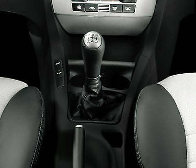 Genuine Leather Gear Shift Boot Gaiter Cover Sleeve fit FIAT STILO 2001-2007