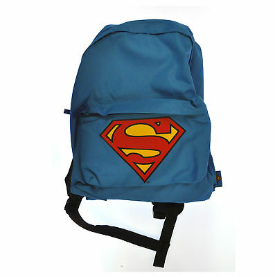Classic Superman Logo Official Rucksack Gym School Weekend Backpack
