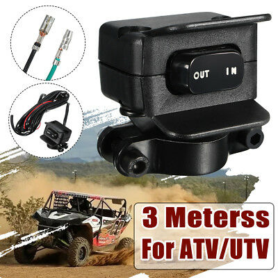 3 Meters Winch Rocker Switch Handlebar Control Line Warn Accessories For ATV/UTV