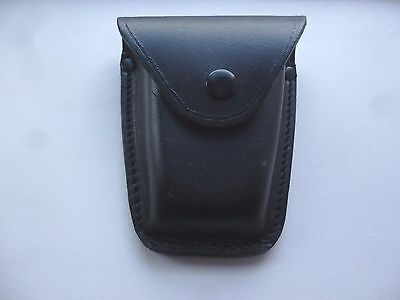 New Leather Police Duty Belt Pouch for Hiatt Peerless Handcuffs Handcuff  B2/P50