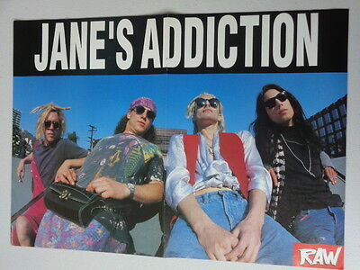 Janes Addiction  /  Slaughter       Picture / Poster  LMJ 93