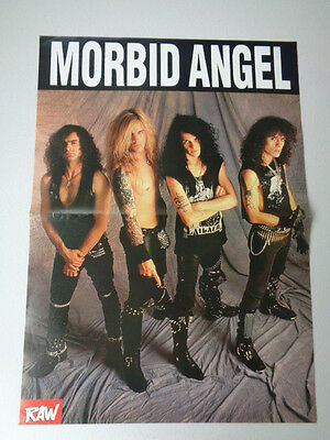 Hanoi Rocks  /  Morbid Angel          Picture / Poster  LMK 12