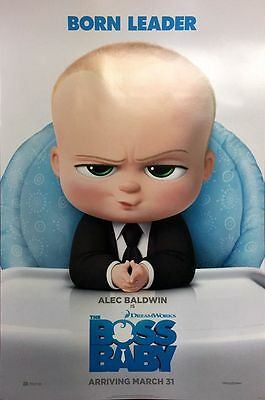 Boss Baby - original DS movie poster D/S 27x40