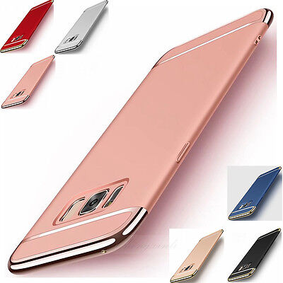 Slim Luxury Electroplate Hard Shockproof Case Cover For Samsung Galaxy S8 / Plus