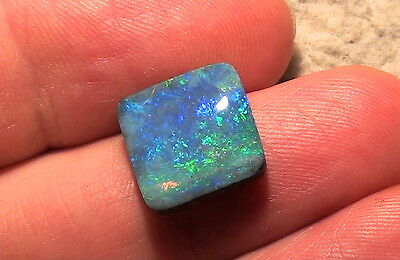 Boulder opal Blue - Green Top Stone - 9,24ct. with Video