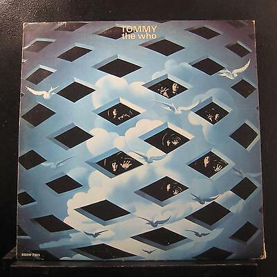 The Who - Tommy 2 LP VG+ DL 75126 Decca 1969 USA Vinyl Record w/Book