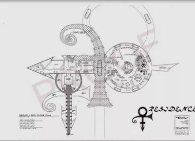 Secret - PRINCE ~ Love Symbol 2 -O(+> ~House Floor-Plans/ 6 Pages - Very Rare!