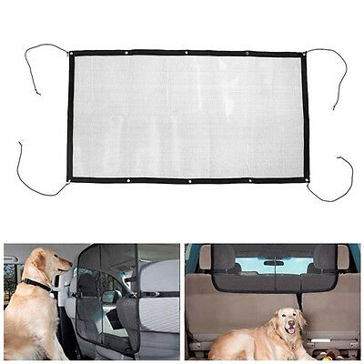 Dog Car Carrier Pet Fence Anti-collision Mesh Auto Barrier Safety Isolation Net