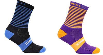 LOT 4 PAIRS Castelli  Exclusive Sailor  cycling socks