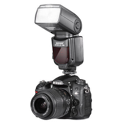 Neewer 750II TTL Flash Speedlite with LCD Display for Nikon