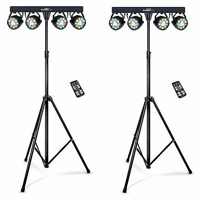 2x Kam PartyBar ECO Portable All In One Lighting System  Package
