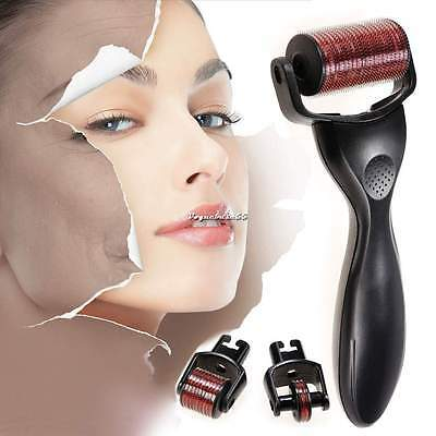Skin Care Kit 3 In 1 Micro Derma Roller Titanium 180/600/1200(0.25-2.5mm) VE4A