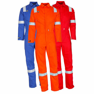 Pioner Flame Retardant Overalls, Boilersuit, Riggmaster, Heavyduty