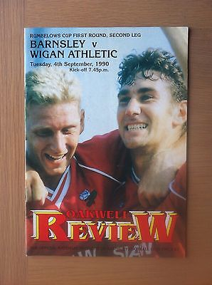 Barnsley V Wigan Athletic 1990-91