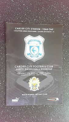 Cardiff City V Dagenham & Redbridge 2009-10