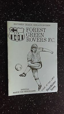 Forest Green Rovers V Dorchester Town 1986-87