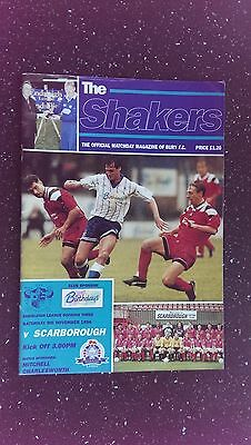 Bury V Scarborough 1994-95