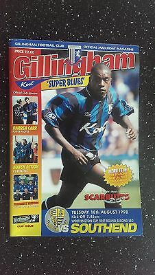 Gillingham V Southend United 1998-99
