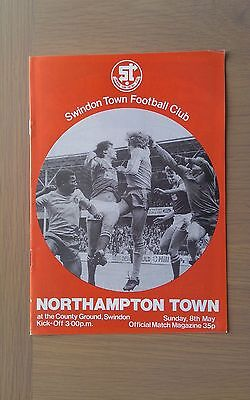 Swindon Town V Northampton Town 1982-83