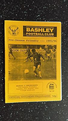 Bashley V Christchurch 1995-96