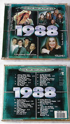 VERY BEST OF THE 80´s 1988 Volume 1 - Cheap Trick, Europe, Rainbirds,... CD TOP