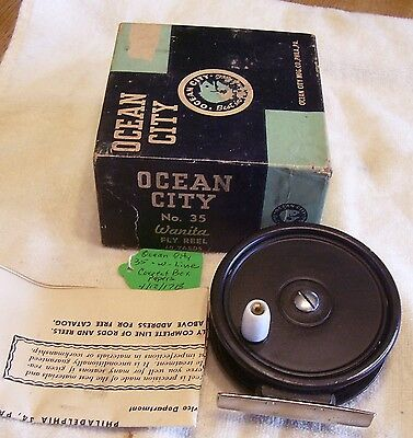 Ocean City # 35 Fly  Reel  04/12/17 Mw   Box Papers Line