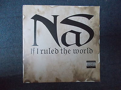 "Nas If I Ruled The World (Imagine That) 12"" Columbia 1996 663402 6"