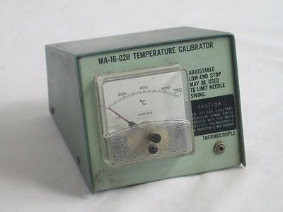 Hughes MA-16-02B Temperature Calibrator