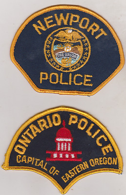 Newport & Ontario OR older Police patches