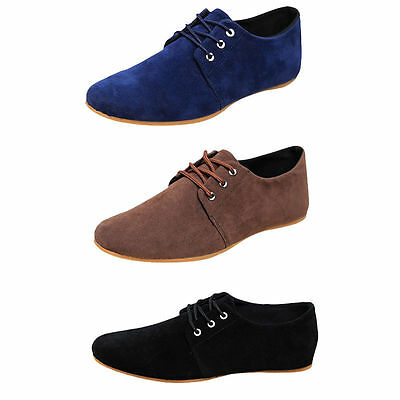 New Fashion Men's Flats Moccasin Loafer Casual Driving Suede Slip On Shoes 2017