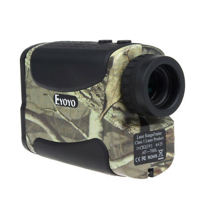 AU!6x25 Clear laser range finder scope 700m/yards rangefinder Binocular Hunting