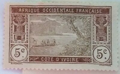 Ivory Coast   Unused /h   Stamp ....worldwide Stamps
