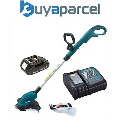 Makita DUR181 LXT 18v Li Ion Cordless Line Trimmer Strimmer + Battery + Charger