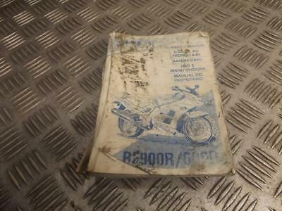 Suzuki RF900R RF900 R 1995 Owners Handbook Manual