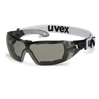UVEX Pheos GUARD SV Extreme 9192-181 Safety Glasses / Spectacles - Smoke Lens