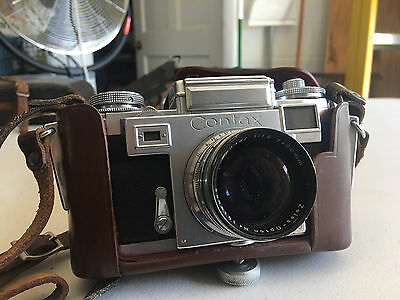 Zeiss Ikon Contax III 35mm Film Rangefinder Camera f2 5cm lens needs a home