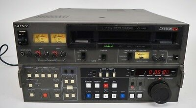 Sony PVW-2800 Betacam Video Cassette Recorder Editor Player VCR