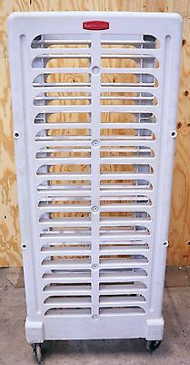 Rubbermaid Commercial Bakery Bread Bun Pan Rolling Oven Rack Tall Trays